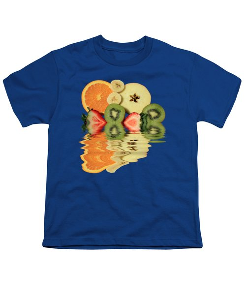 Split Reflections Youth T-Shirt by Shane Bechler