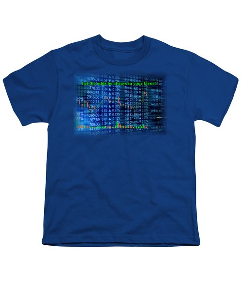 Stock Exchange Youth T-Shirt by Anastasiya Malakhova