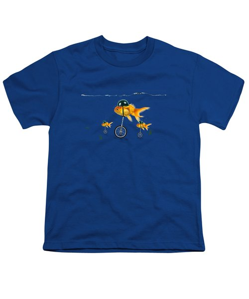 The Race  Youth T-Shirt by Mark Ashkenazi