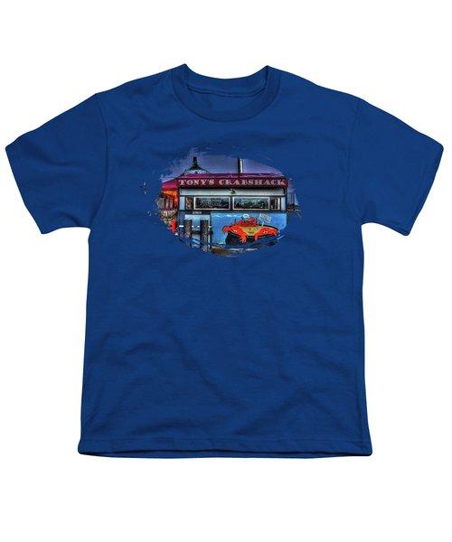 Tonys Crabshack Youth T-Shirt by Thom Zehrfeld