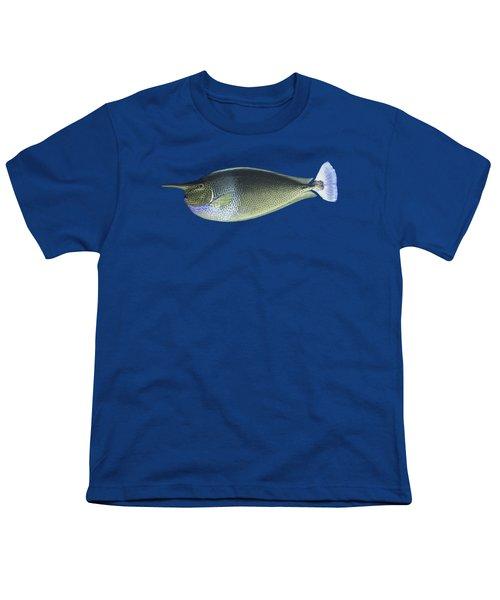 Unicorn Fish Youth T-Shirt by Roy Pedersen