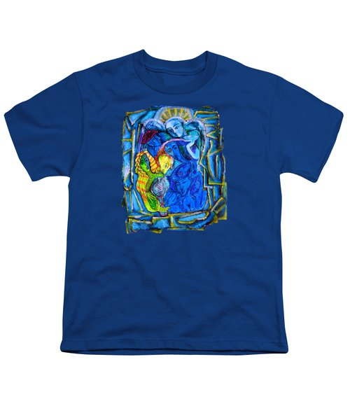 Yeti And The Mermaid Series I Don't You See? Youth T-Shirt by Joanna Whitney