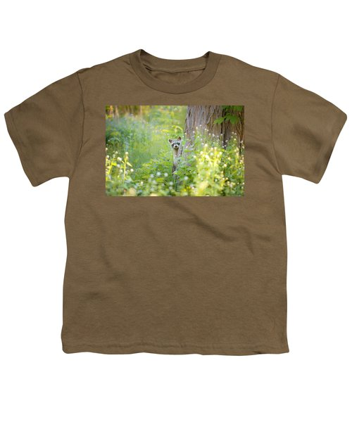 Peek A Boo Youth T-Shirt by Carrie Ann Grippo-Pike