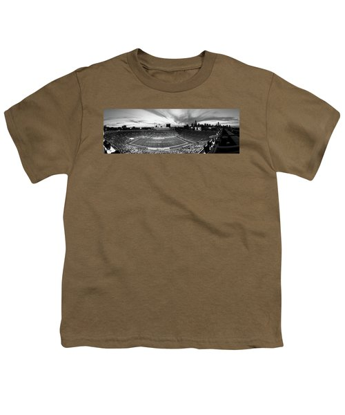 Soldier Field Football, Chicago Youth T-Shirt by Panoramic Images