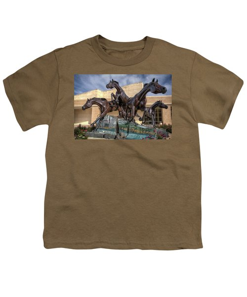 A Monument To Freedom Youth T-Shirt by Joan Carroll