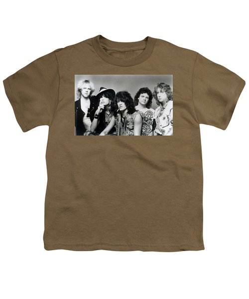 Aerosmith - What It Takes 1980s Youth T-Shirt by Epic Rights