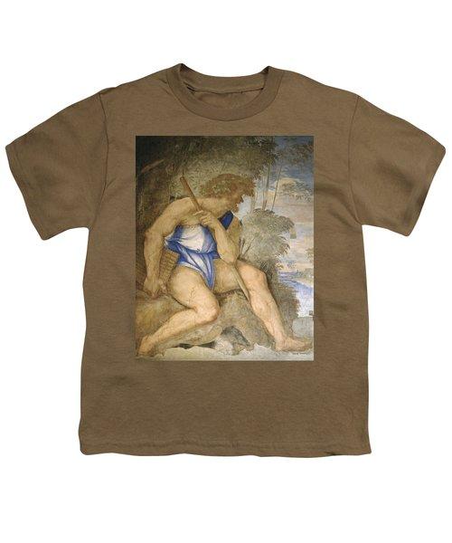 Baldassare Peruzzi 1481-1536. Italian Architect And Painter. Villa Farnesina. Polyphemus. Rome Youth T-Shirt by Baldassarre Peruzzi
