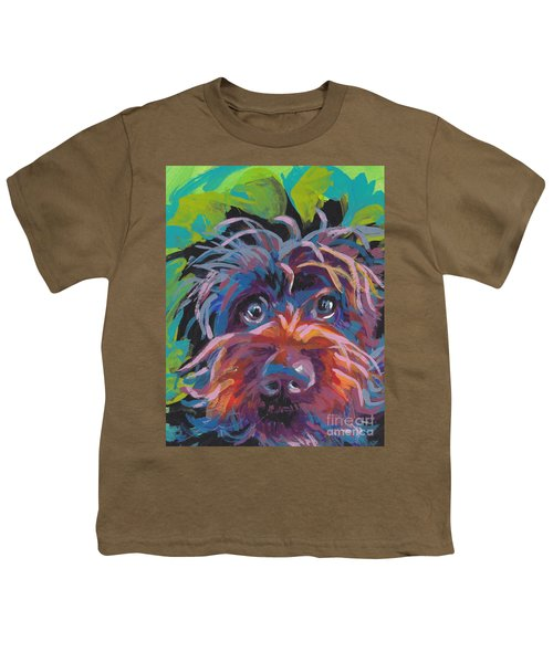 Bedhead Griff Youth T-Shirt by Lea S