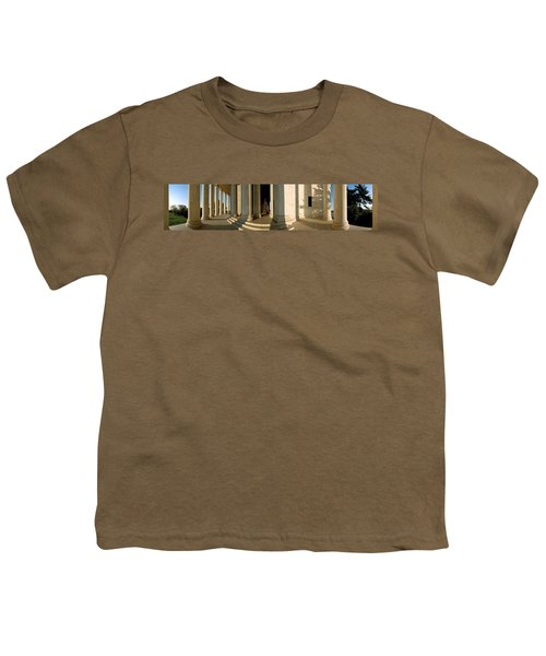 Columns Of A Memorial, Jefferson Youth T-Shirt by Panoramic Images