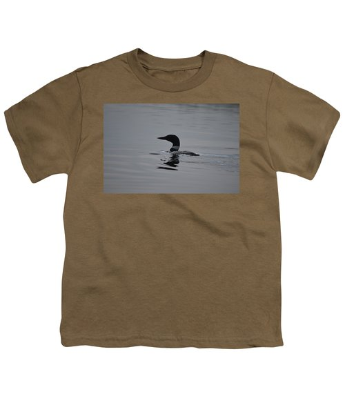 Common Loon Youth T-Shirt by James Petersen