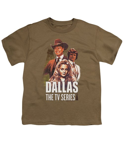 Dallas - Group Youth T-Shirt by Brand A