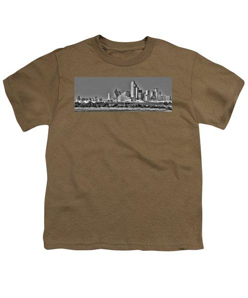 Dallas The New Gotham City  Youth T-Shirt by Jonathan Davison