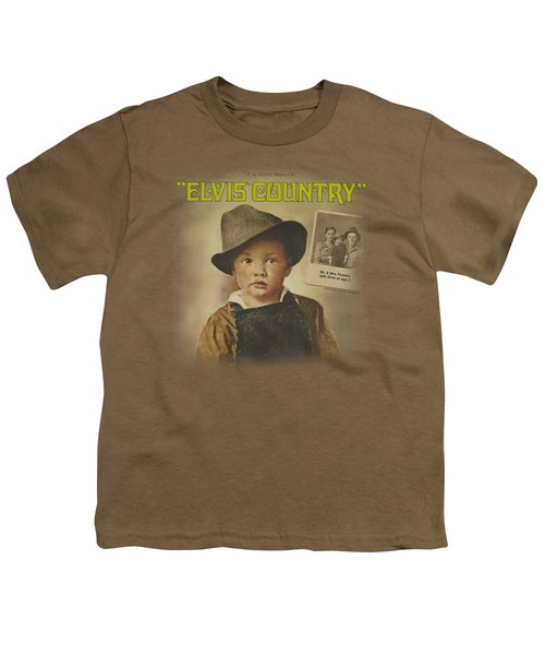 Elvis - Elvis Country Youth T-Shirt by Brand A