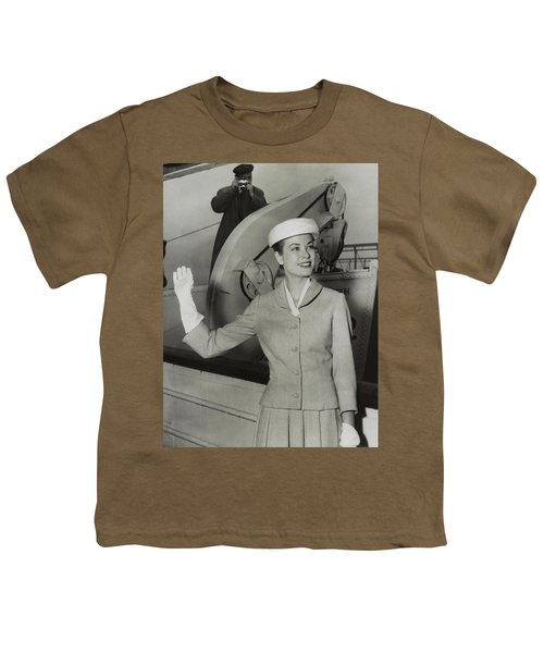 Grace Kelly In 1956 Youth T-Shirt by Mountain Dreams