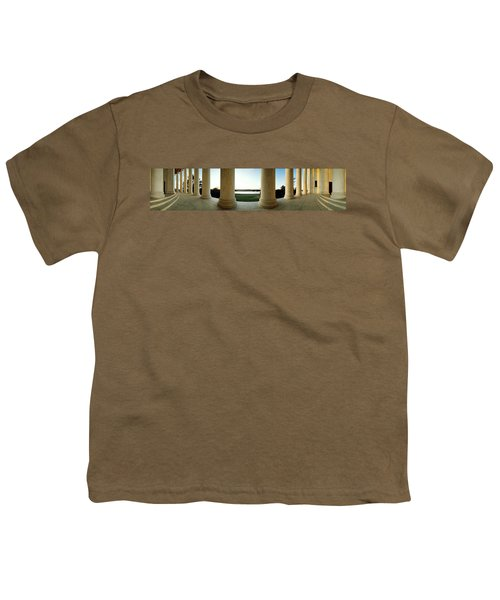 Jefferson Memorial Washington Dc Youth T-Shirt by Panoramic Images