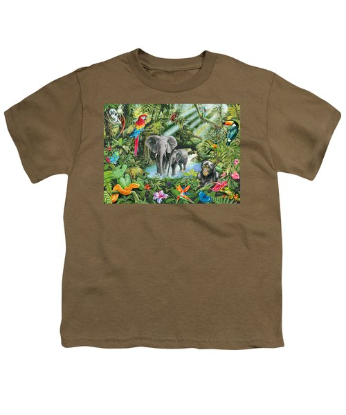 Jungle Youth T-Shirt by Mark Gregory