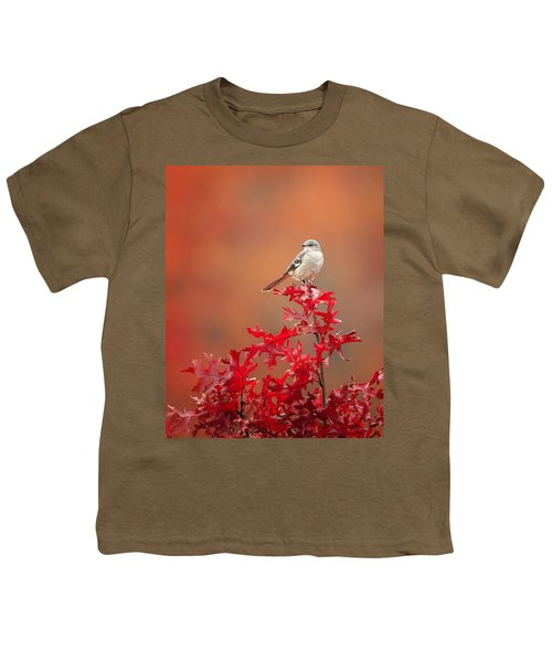 Mockingbird Autumn Youth T-Shirt by Bill Wakeley