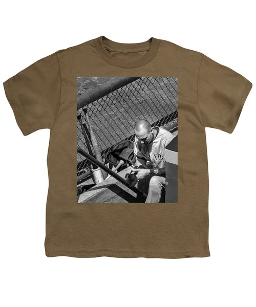 Moment Of Reflection Youth T-Shirt by Tom Gort