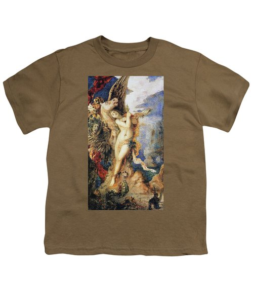 Perseus And Andromeda Youth T-Shirt by Gustave Moreau