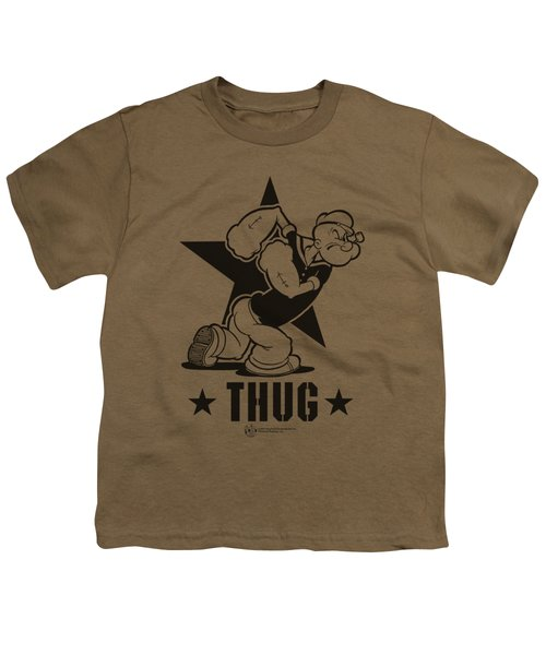 Popeye - Thug Youth T-Shirt by Brand A
