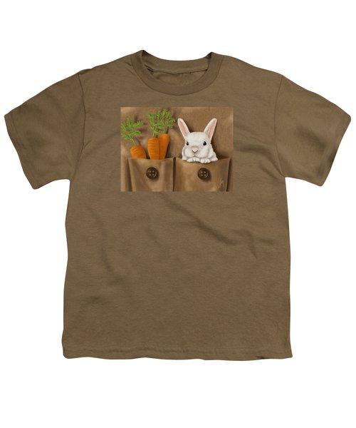 Rabbit Hole Youth T-Shirt by Veronica Minozzi