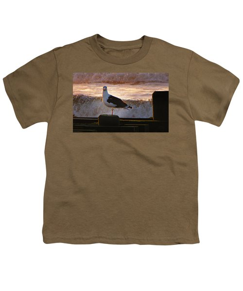 Sittin On The Dock Of The Bay Youth T-Shirt by David Dehner