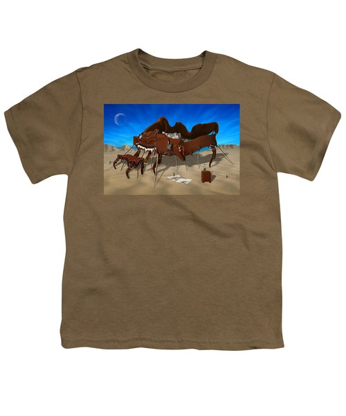 Softe Grand Piano Se Youth T-Shirt by Mike McGlothlen