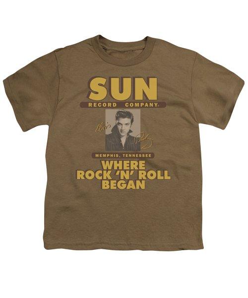 Sun - Sun Ad Youth T-Shirt by Brand A