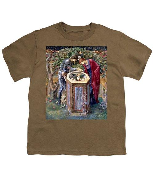 The Baleful Head, C.1876 Youth T-Shirt by Sir Edward Coley Burne-Jones