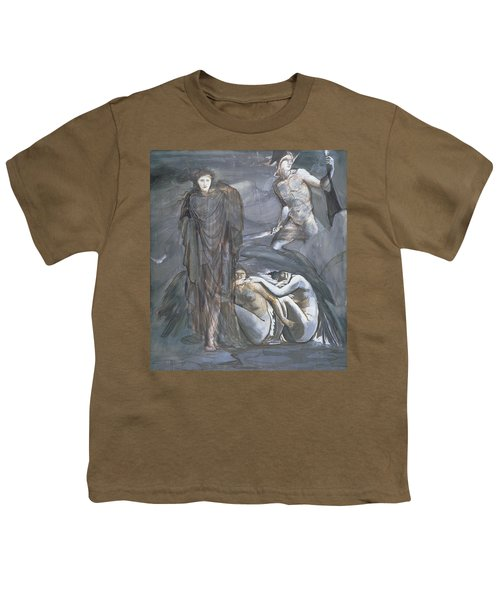 The Finding Of Medusa, C.1876 Youth T-Shirt by Sir Edward Coley Burne-Jones