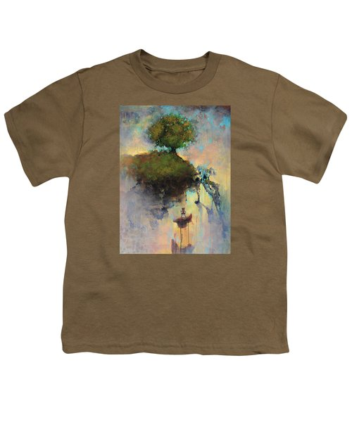 The Hiding Place Youth T-Shirt by Joshua Smith