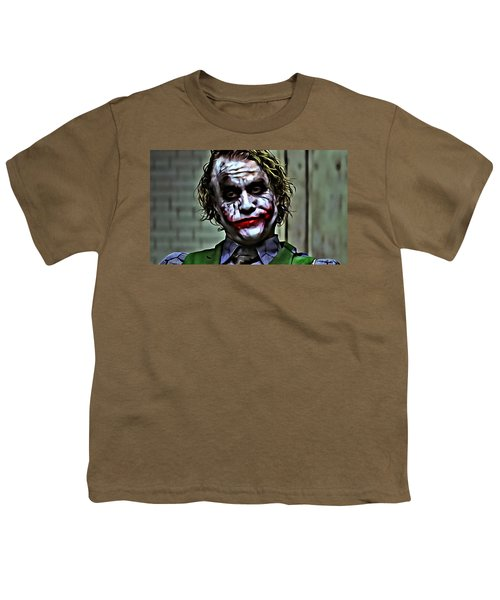 The Joker Youth T-Shirt by Florian Rodarte