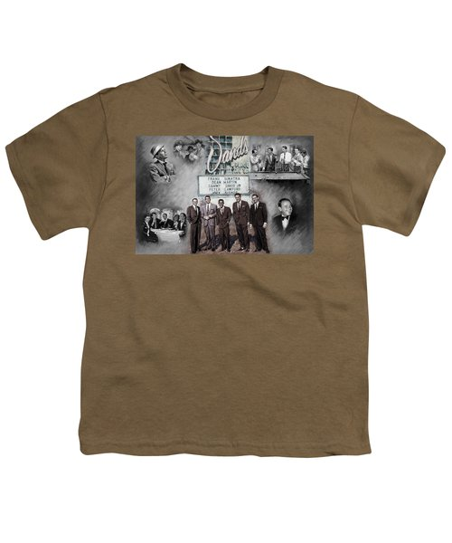 The Rat Pack Youth T-Shirt by Viola El