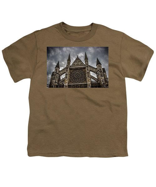 Westminster Abbey Youth T-Shirt by Martin Newman