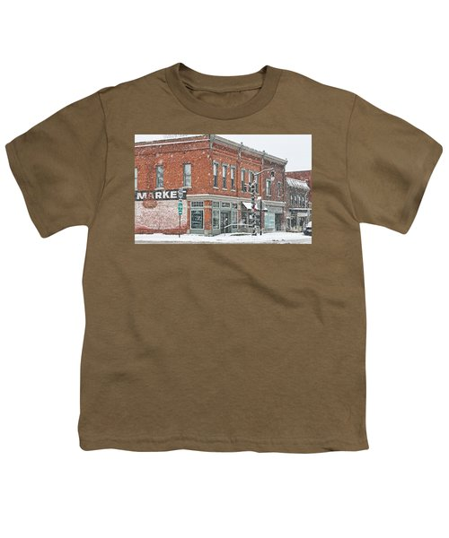 Whitehouse Ohio In Snow 7032 Youth T-Shirt by Jack Schultz