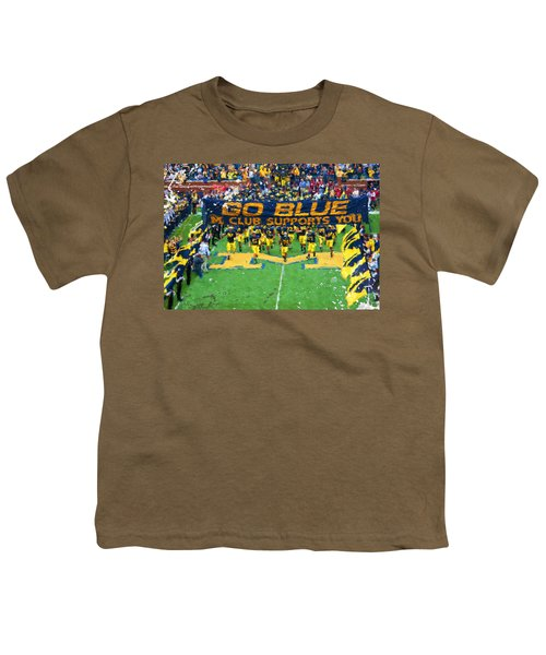 Wolverines Rebirth Youth T-Shirt by John Farr