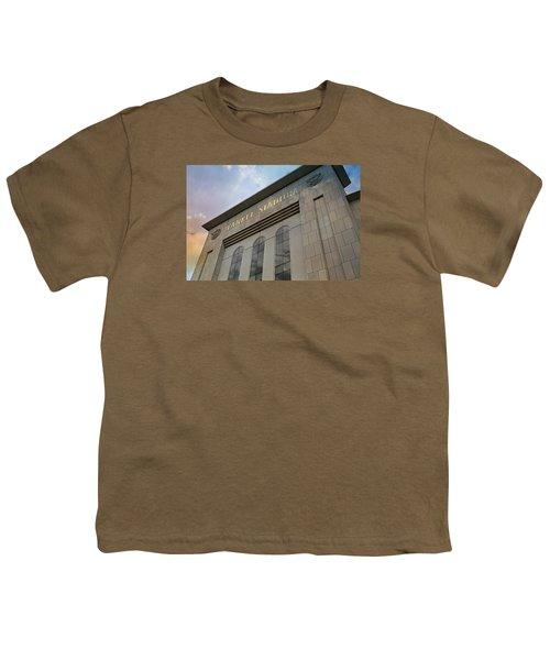 Yankee Stadium Youth T-Shirt by Stephen Stookey