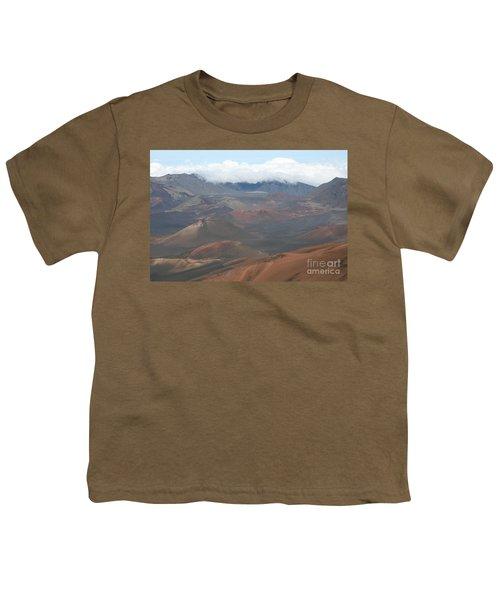 Haleakala Volcano Maui Hawaii Youth T-Shirt by Sharon Mau