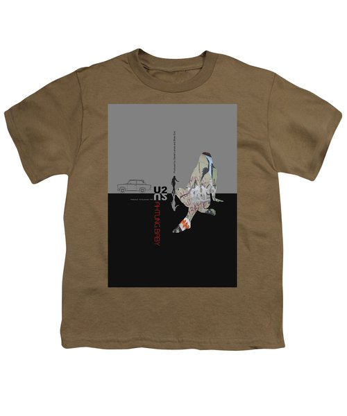 U2 Poster Youth T-Shirt by Naxart Studio