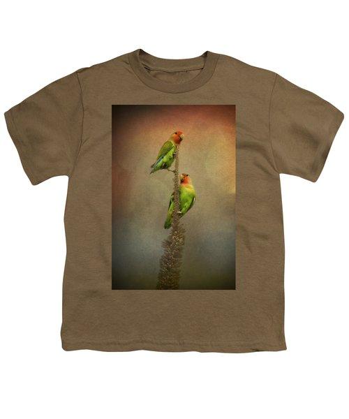 Up And Away We Go Youth T-Shirt by Saija  Lehtonen