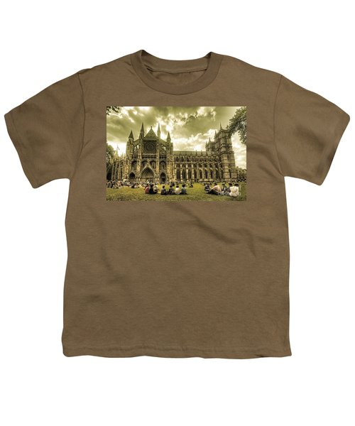 Westminster Abbey Youth T-Shirt by Rob Hawkins