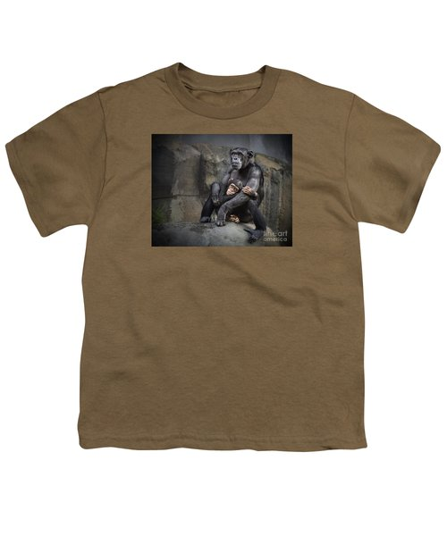 Hugs Youth T-Shirt by Jamie Pham