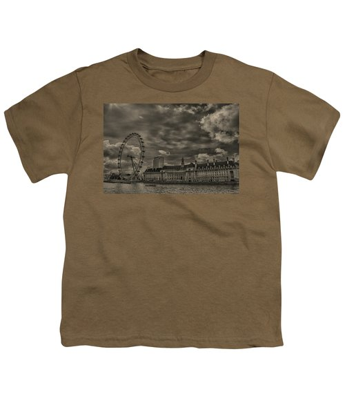 London Eye Youth T-Shirt by Martin Newman