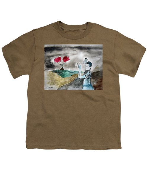 Scott Weiland - Stone Temple Pilots - Music Inspiration Series Youth T-Shirt by Carol Crisafi