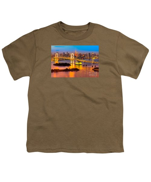 Tokyo - Japan Youth T-Shirt by Luciano Mortula