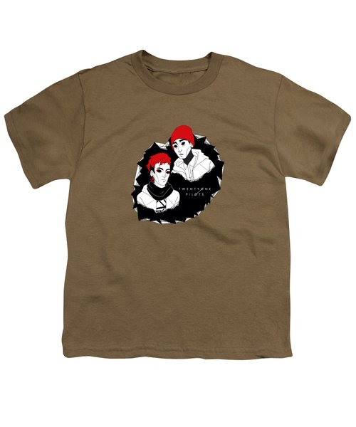 21pilots Art Youth T-Shirt by Mentari Surya