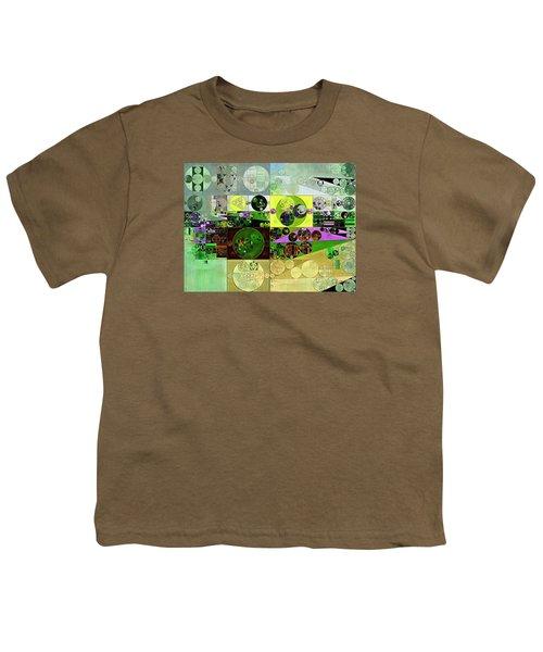 Abstract Painting - Black Bean Youth T-Shirt by Vitaliy Gladkiy