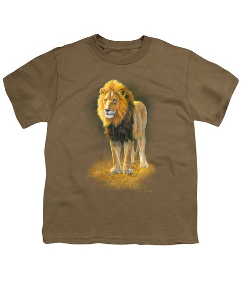 In His Prime Youth T-Shirt by Lucie Bilodeau