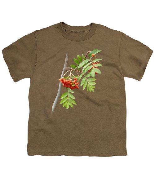 Rowan Tree Youth T-Shirt by Ivana Westin