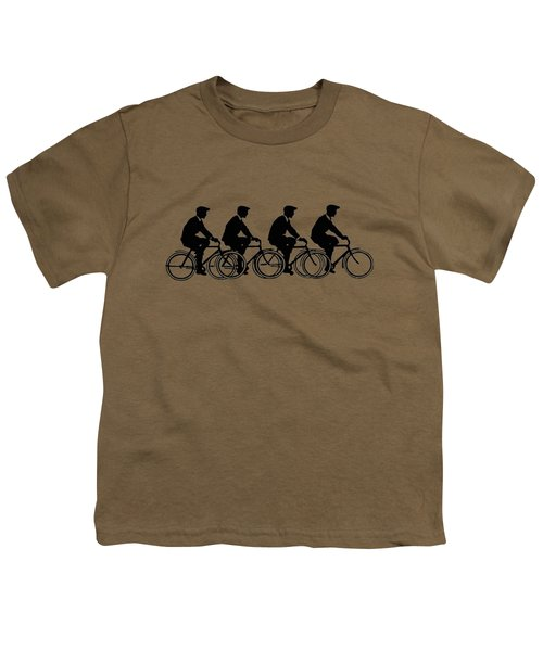 Bicycling T Shirt Design Youth T-Shirt by Bellesouth Studio